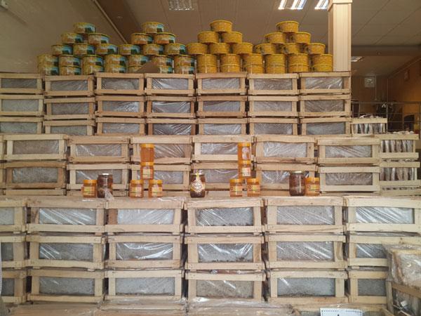 محصولات عسل مهرنوش
