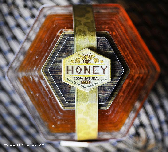 بسته بندی شیک عسل